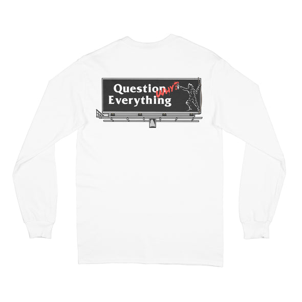 Last Call Co. Question Long Sleeve Tee