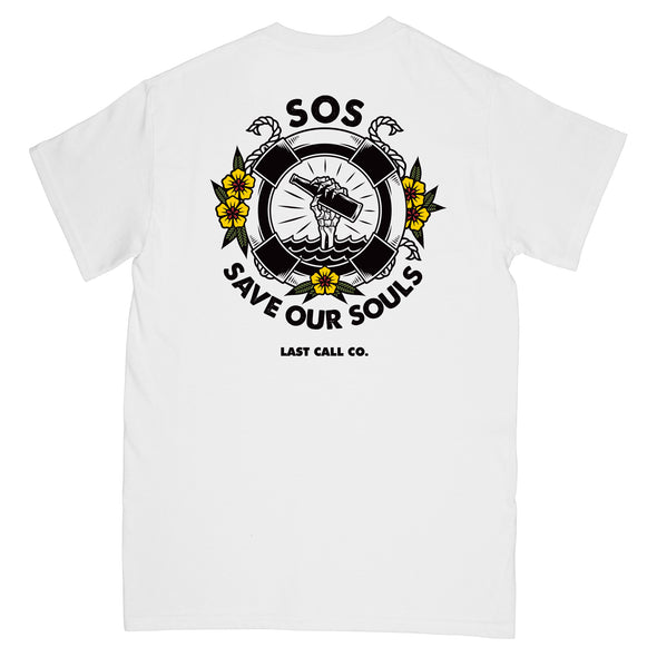 Last Call Co. SOS T-shirt
