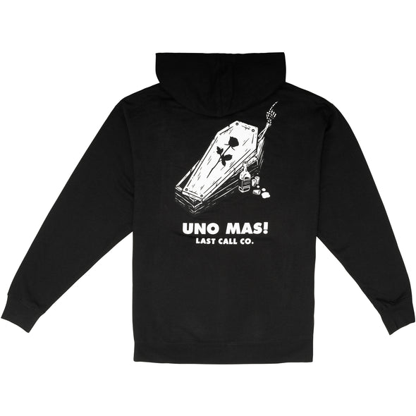 Last Call Co. Uno Mas Pullover Fleece Hoodie * XL ONLY *