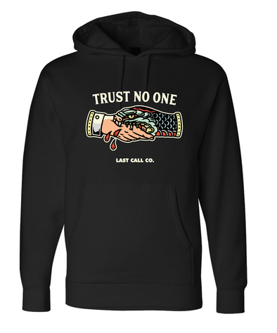 Last Call Co. Trust Pullover Fleece Hoodie