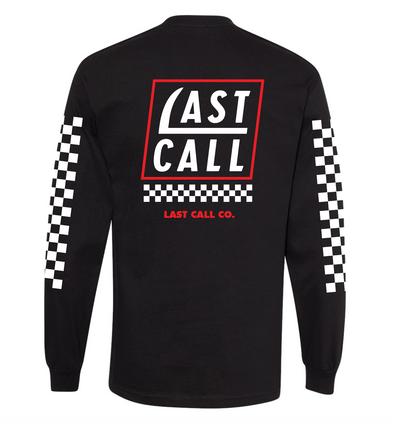 Last Call Co. Scythe Logo Long Sleeve Tee