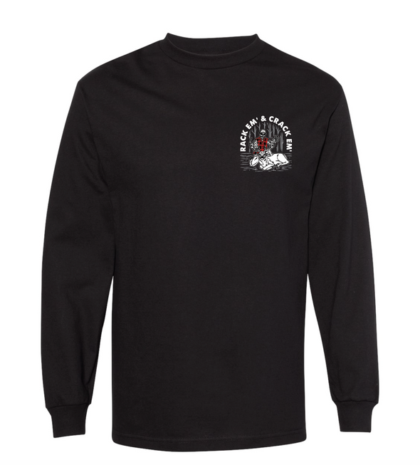 Last Call Co. Crack Em Long Sleeve Tee