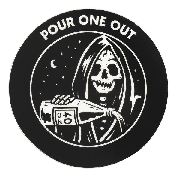 Last Call Co. Pour One Out Sticker