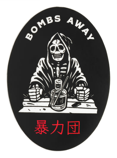 Last Call Co. Bombs Away Sticker