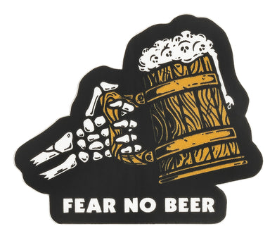 Fear No Beer Sticker