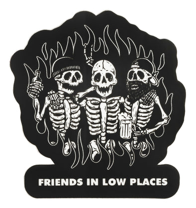 Friends in Low Places Sticker