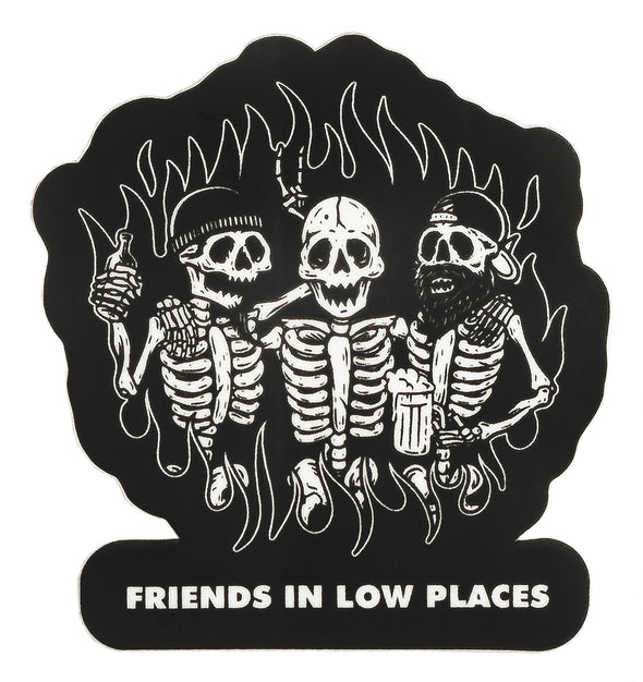 Last Call Co. Friends in Low Places Sticker