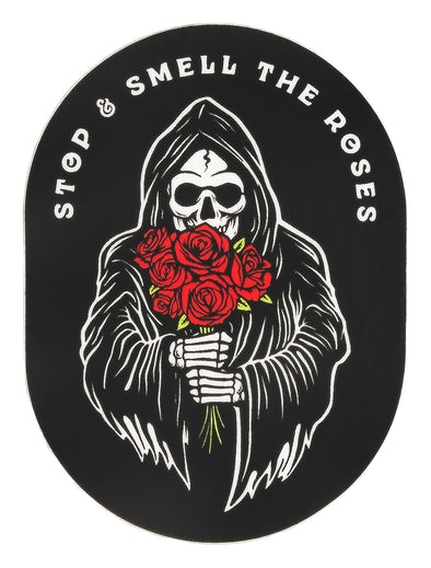 Smell the Roses Sticker