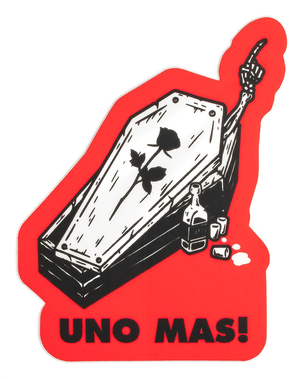 Last Call Co. Uno Mas Sticker