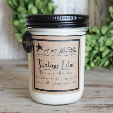 Vintage Lilac Soy Candle