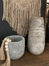 Load image into Gallery viewer, Gray Paulownia Wood Vase