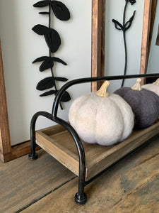 Felt Pumpkins-Large