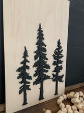 Load image into Gallery viewer, Natural Sign Collection-Nordic Trees