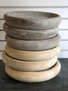 Natural Paulownia Bowl-Large
