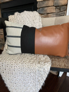 Patchwork Lumbar Pillow-2