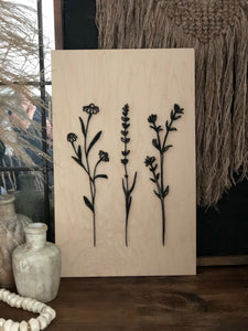 Natural Sign Collection-WILDFLOWERS