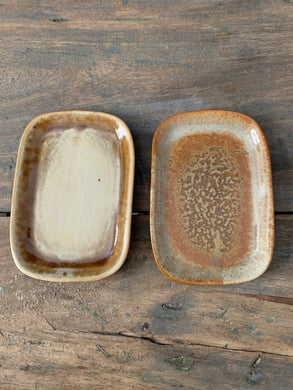 Set Of Stacking Stoneware Plates