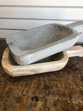 Load image into Gallery viewer, Gray Paulownia Tray W/Handle