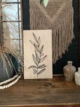 Load image into Gallery viewer, Natural Sign Collection-OLIVE BRANCH