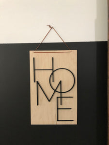 Natural Sign Collection-HOME