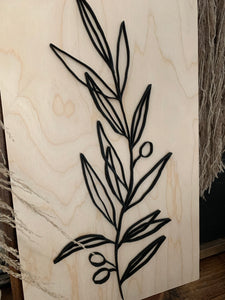 Natural Sign Collection-OLIVE BRANCH