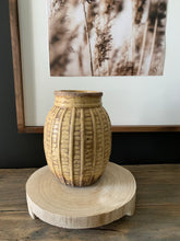 Load image into Gallery viewer, Embossed Terra-cotta Vase