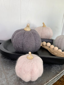 Felt Pumpkins-Small