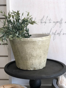 Antique White Pot