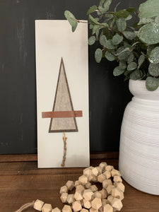 Rustic Tree Wood Sign