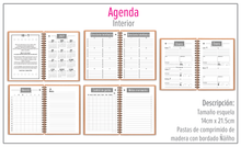 Load image into Gallery viewer, Agenda / Libreta Búho