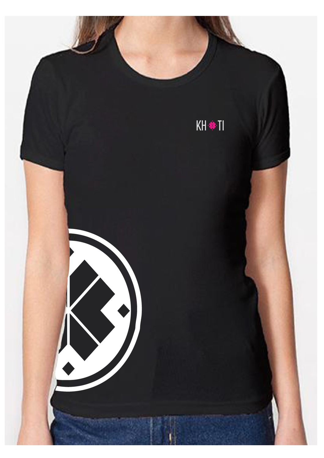 Short sleeve Khoti T-shirt Woman