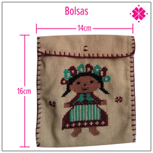 Load image into Gallery viewer, Bolsas bordadas a mano Lele