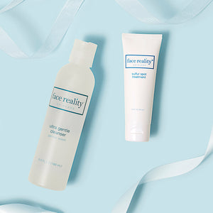 Holidays 2020 - Ultra Gentle Cleanser + Sulfur Spot Treatment