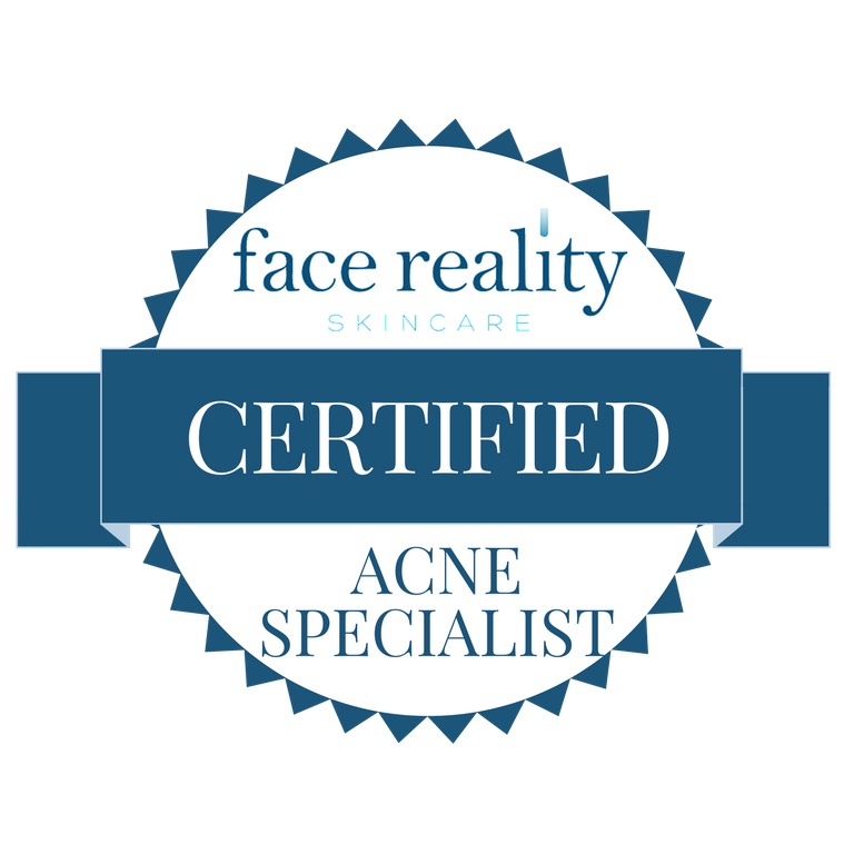 Large Certified Acne Specialist Badge (Transparent Background)
