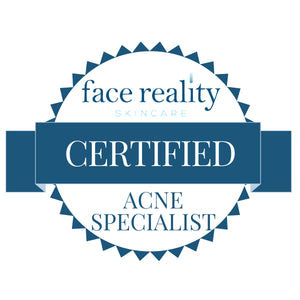Large Certified Acne Specialist Badge (White Background)