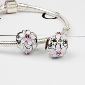 Charms Rose Flower-OUI Deals