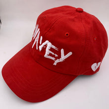 Load image into Gallery viewer, Wavey Dad Cap Red