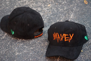 Wavey Orange and Black