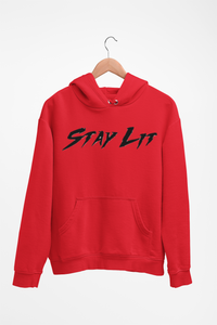 Stay Lit Hoodie (Reflective Print)