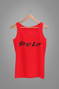 Stay Lit Tank Top (Womens)