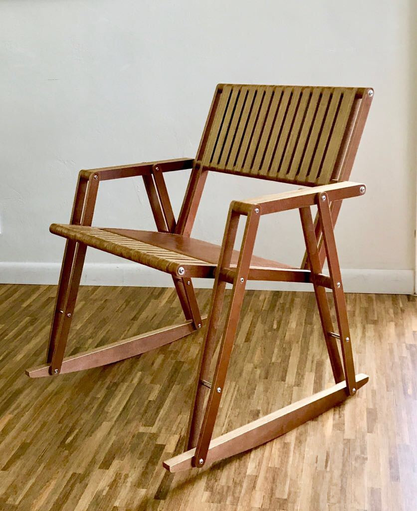 FLEXUS PLYWOOD ROCKING CHAIR