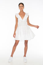 White Susannah Coe Dress