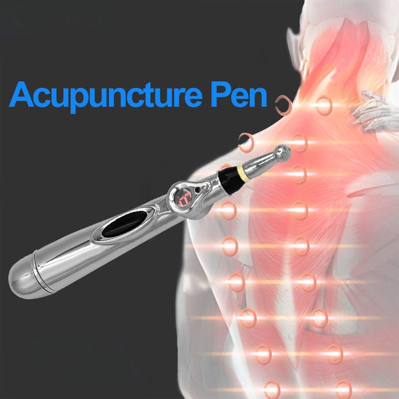 New Electronic Acupuncture Pen Electric Meridians Laser Therapy Heal Massage Pen Meridian Energy Pen Relief Pain Tools - the factory forum