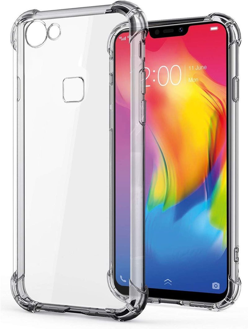 Clear Flexible Transparent Bumper Case for Vivo Y83 at Corner Clear Case Cover with Protective Shock Proof Corner - the factory forum