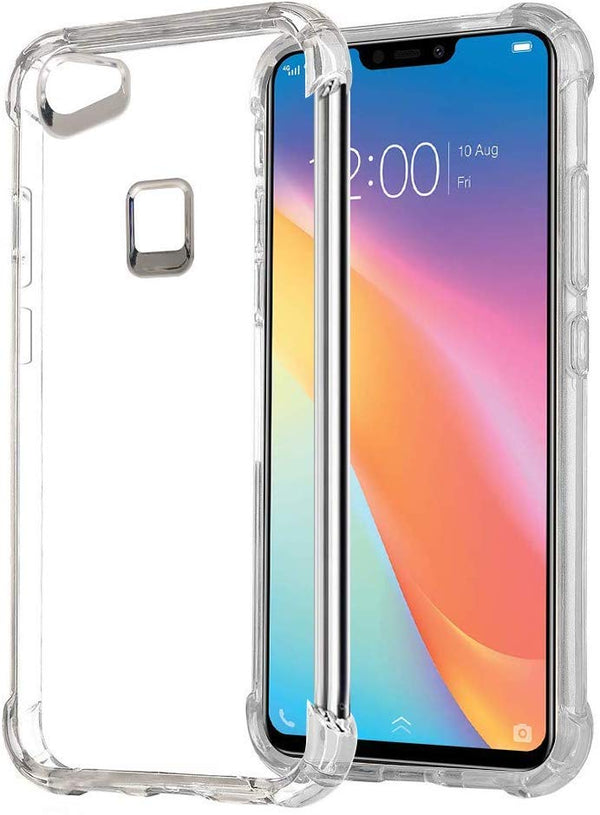 Silicon Shock Proof Protective Soft Bumper Transparent Back Cover for Vivo Y81 Transparent Bumper Back Cover - the factory forum