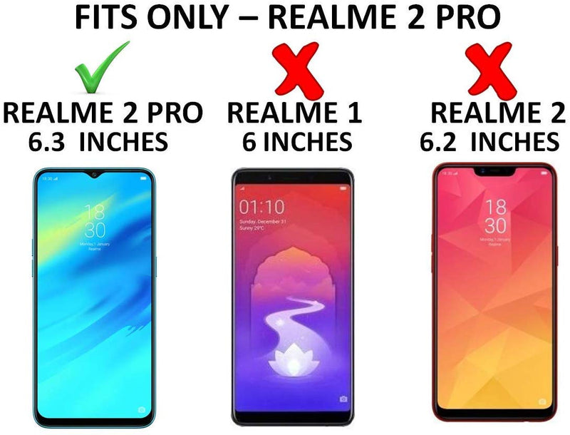 Shockproof TPU Back Cover for Realme 2 Pro-Transparent | Cushioned Edges | Flexible Clear Case - the factory forum