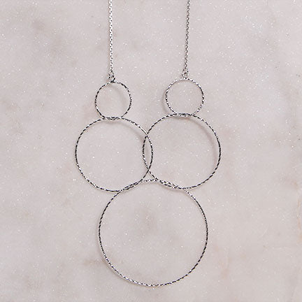 Circled Statement Necklace