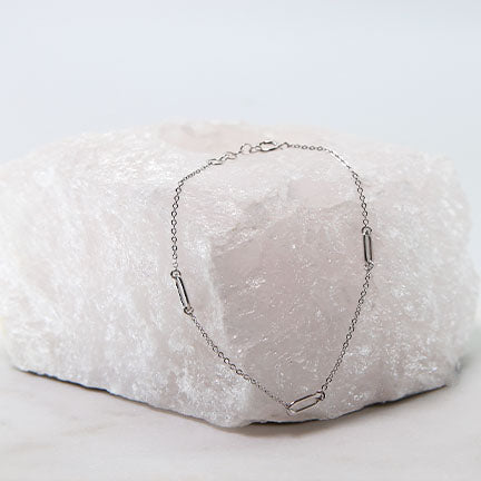 Open Rectangle Bracelet
