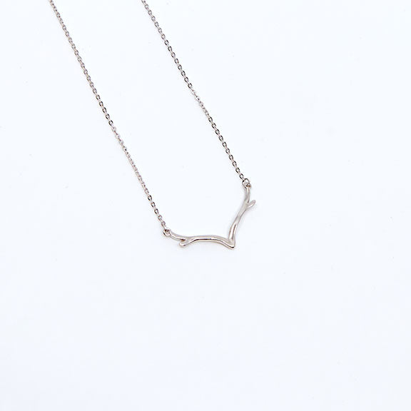 Antler Inspired Necklace
