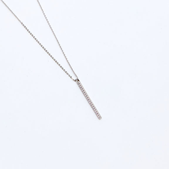 Sparkly Needle Necklace